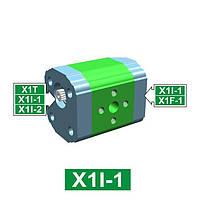 Шестеренчатый гидронасос Vivoil XI102 - фланец ø25.4 под форму корпуса (Промежуточная секция)
