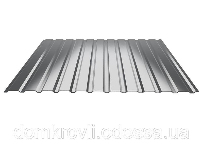 Профнастил стеновой ПС-10 Zn цинк 0,35 мм