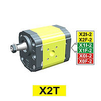 Vivoil насос гидравлический XT210 - фланец ø50 тип 'BH' (Передняя секция)