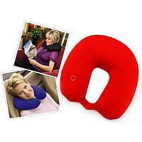 Антистрессовая подушка-подголовник массажная