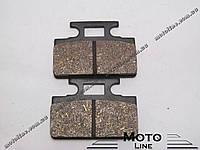 Колодки тормозные передние дисковые Honda Lead SS AF-10 Mototech