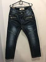 Демисезонные джинсовые брюки на подростка 140,146,152 см, фото 1