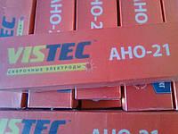 Сварочные электроды  АНО-21 диаметр 3,0 Вистек