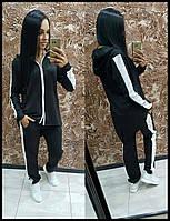 Женский спортивный костюм с юбкой двойка  42 44 46
