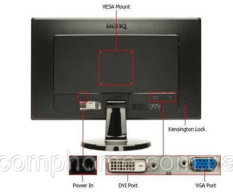 Монитор BenQ GL2450HM 24 дюйма, фото 2
