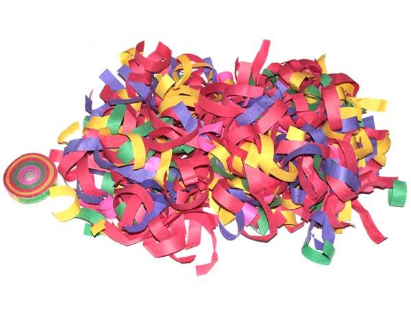 Серпантин-конфетти бумажный