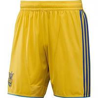 Шорты игровые Adidas FFU 2012 - 2014 сборной Украины по футболу X11616 ba2b48ca9e4d9