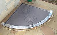 Плита чугунная угловая двухконфорочная