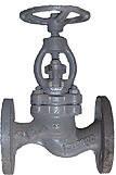 Вентиль стальной запорный 15с65бк Ду15 Ру16