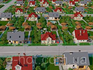 Проектирование коттеджного городка из кирпича