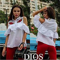 Женская блузка Роза белая