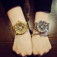 Женские наручные часы Skeleton