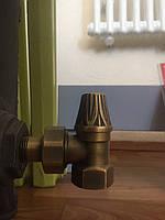 Кран радиаторный угловой (нижний) RETRO, фото 1