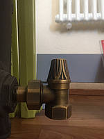 Кран радиаторный угловой (нижний) RETRO 1/2, RETROstyle, Угловой