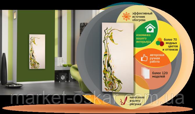 Oбогреватели UDEN-S с handmade рисунками - Ворота, шлагбаумы, автоматика для ворот. Маркет Оскар в Киеве
