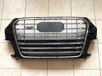 Решетка радиатора SQ3 для Audi Q3 (черная)