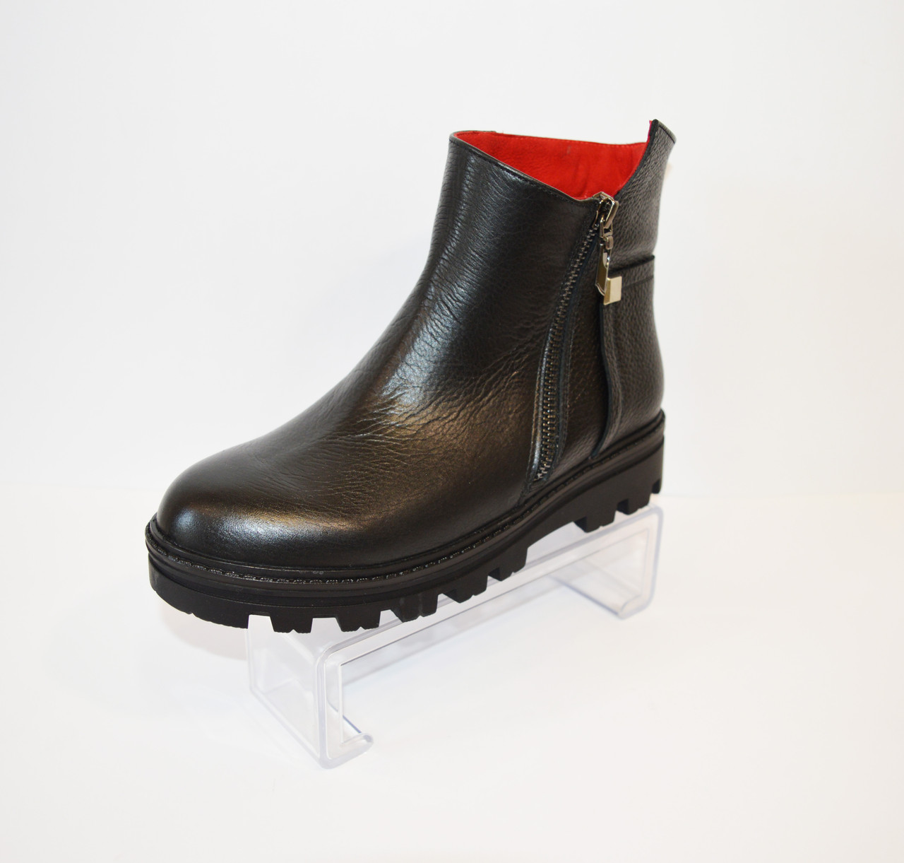 Ботинки кожаные женские El Passo 2241