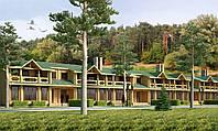 Проектирование многоквартирного дома из клееного бруса