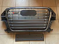Решетка радиатора SQ3 для Audi Q3 (серая)