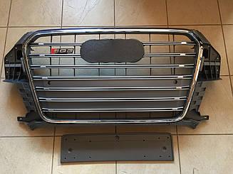 Решітка радіатора SQ3 для Audi Q3 (сіра)