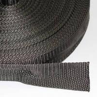 Лента синтетическая (полипропиленовая) 25 мм тонкая, фото 1