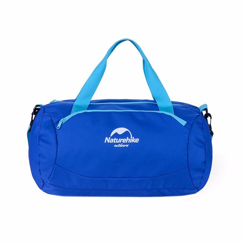 Сумка спортивная 20л NatureHike Wet&Dry Bag NH16F020-L  Голубо