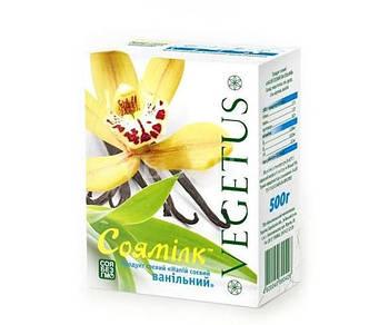 Молоко соевое ванильное 500 мл, Vegetus