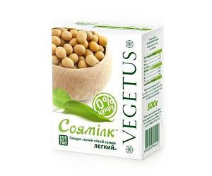 Молоко соевое легкое 500 мл, Vegetus