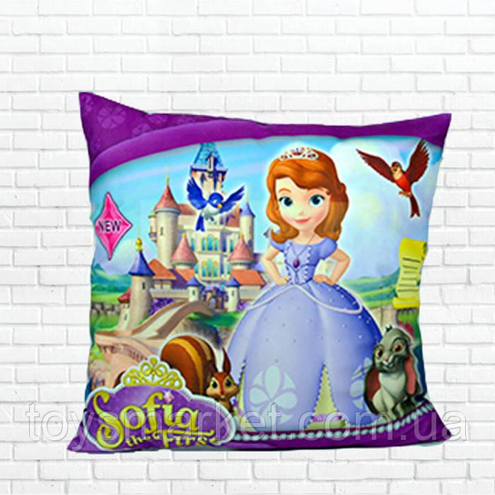 Детская подушка, Холодное сердце,принцеса,София
