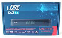 Спутниковый цифровой HDTV ресивер с функцией IPTV и медиаплеера U2C DENYS H.265 HD