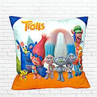 Детская подушка, Тролли,герои