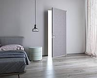 Межкомнатная дверь ELDOORstandart Модель Laminat(структурный ламинат) ТВИД0102(Cеро-кофейный) в проем 2100х800