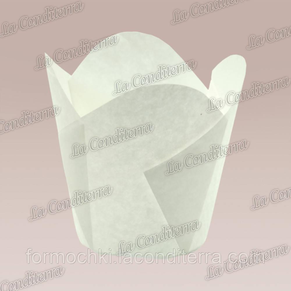 Формочки для кексов Фиалка (150 шт., d=35 мм, высота бортика=35/45 мм)