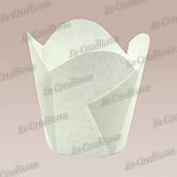 Формочки для кексов Фиалка (150 шт., d=35 мм, высота бортика=35/45 мм), фото 1