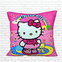 Детская подушка, Хелло,Китти,розовая
