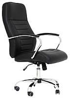 Кресло Ямайка Хром, Кожзам Черный (Richman ТМ)
