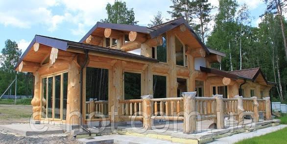 Проектирование многоквартирного дома из дикого бруса