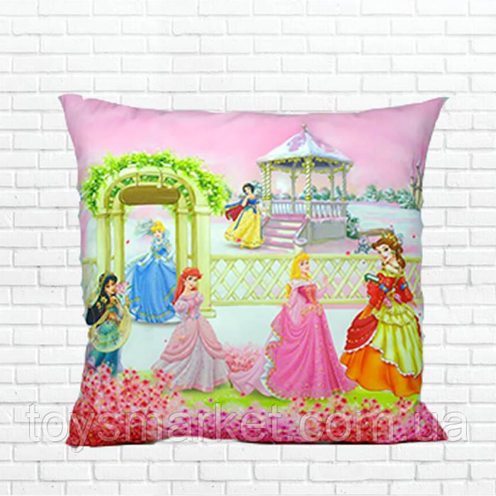 Детская подушка Принцессы