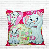 Детская подушка, Хелло,Китти,белая,кошечка