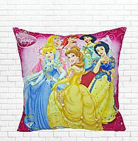 Детская подушка, Принцессы,белоснежка,золушка