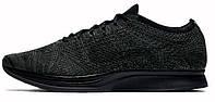 Мужские кроссовки Nike Racer Flyknit Triple Black