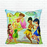 Детская подушка, Принцессы,феечки,винкс