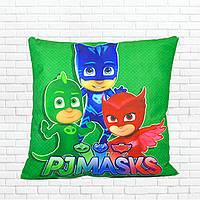 Детская подушка, Герои в масках,аллет,гекко,кетбой