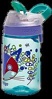 Бутылка спортивная детская Contigo Gizmo Sip 0,42 л голубая 1000-0471