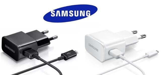 Сетевое зарядное устройство 2 в 1 для Samsung Galaxy оригинал