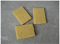 Натуральный каучук для очистки кожи 7*5*1 без особых усилий удаляет грязь с кожи
