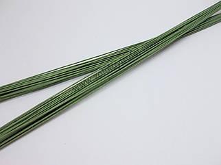 Проволока флористическая зеленая № 24 (3 шт)