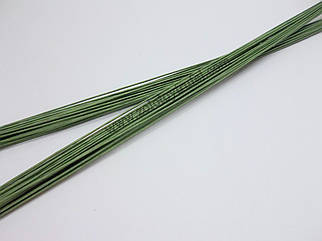 Проволока флористическая зеленая № 20