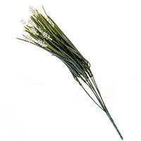 Белая декоративная трава 40см