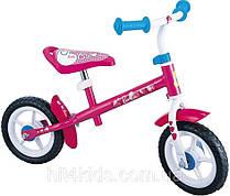 "Беговел STAMP Barbie 10"" (pink-white)"